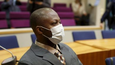 Photo of Sierra Leone man on trial in Finland for Liberian war crimes
